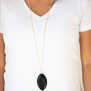 Santa Fe Simplicity Black necklace